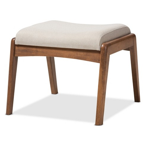 Roxy Mid - Century Modern Wood Finish And Fabric Upholstered ...