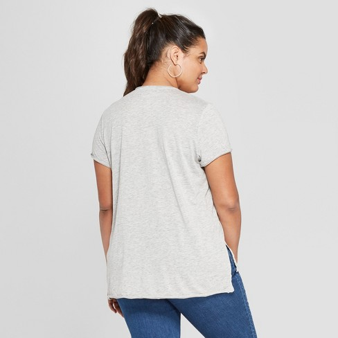 a16f61051e81e Women s Plus Size Short Sleeve Whiskey Business Graphic T-Shirt - Grayson  Threads - Gray   Target