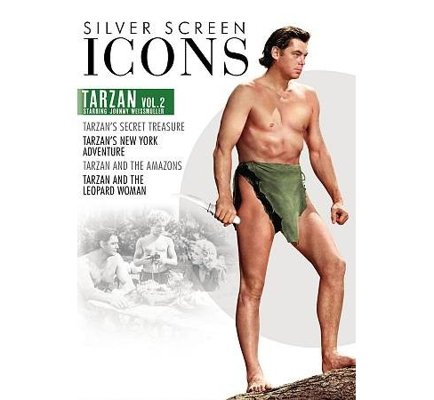 Silver Screen Icons:Johnny Weissmulle (DVD) - image 1 of 1