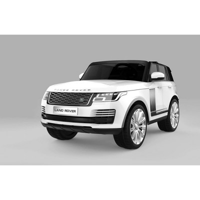 Best Ride on Cars 12V 2 Seater Range Rover Powered Ride-On - White
