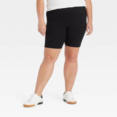 Women's plus Size Bike Shorts - Ava & Viv™