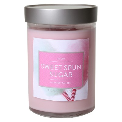 Jar Candle Sweet Spun Sugar 21oz - Signature Soy®