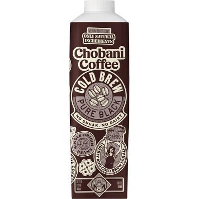 Chobani Black Cold Brew Coffee - 32 fl oz
