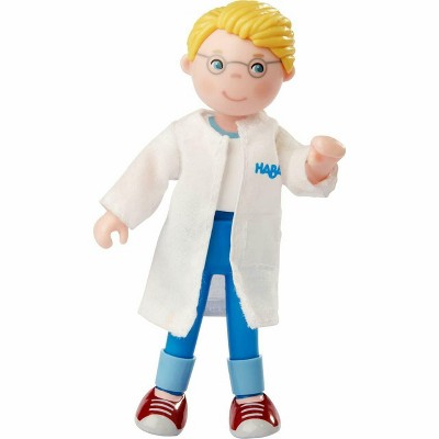 "HABA Little Friends Veterinarian Andreas 4.5"" Dollhouse Toy Figure"