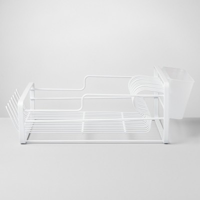 Wire Dish Rack Small White - Made By Design™