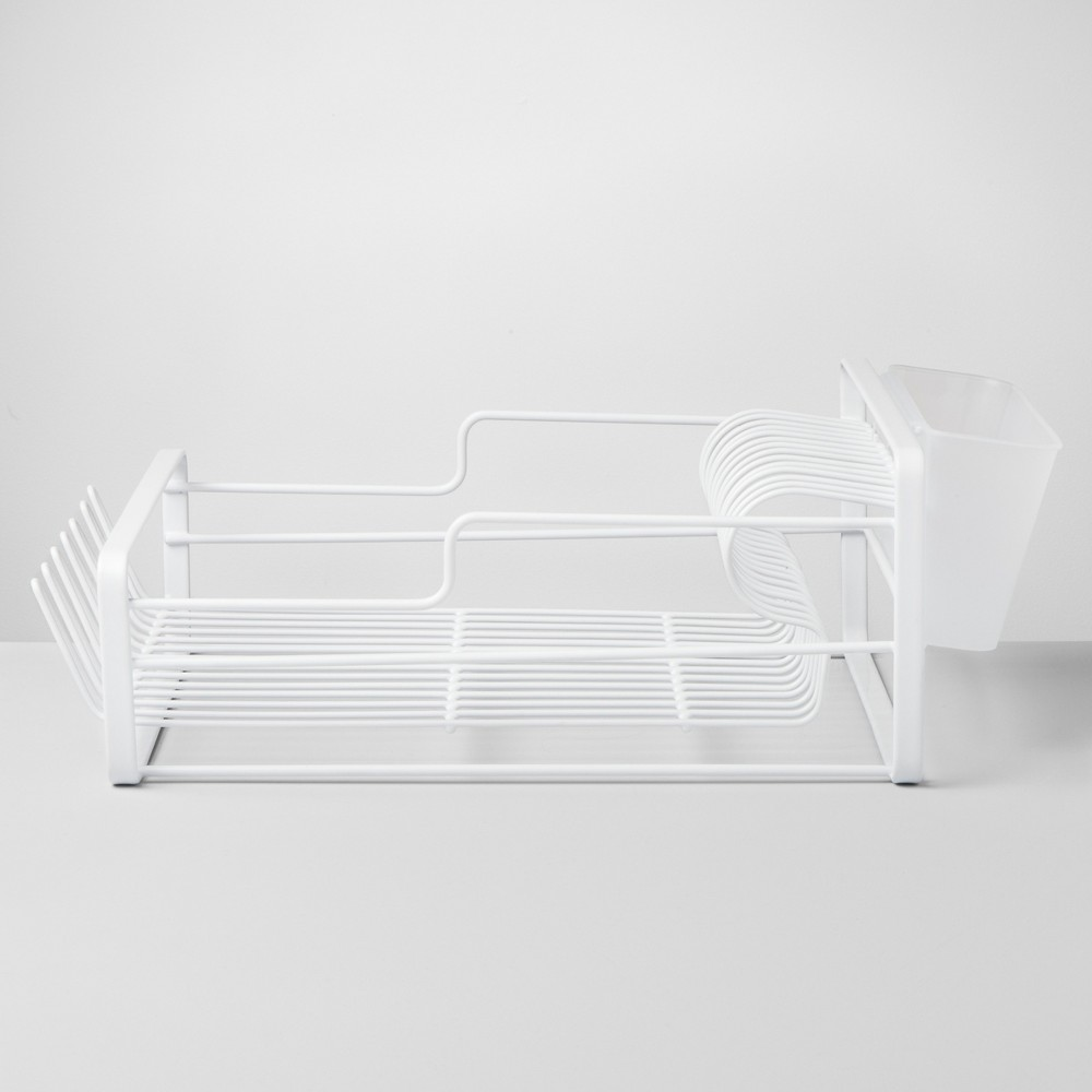 Wire Dish Rack Large White - Made By Design