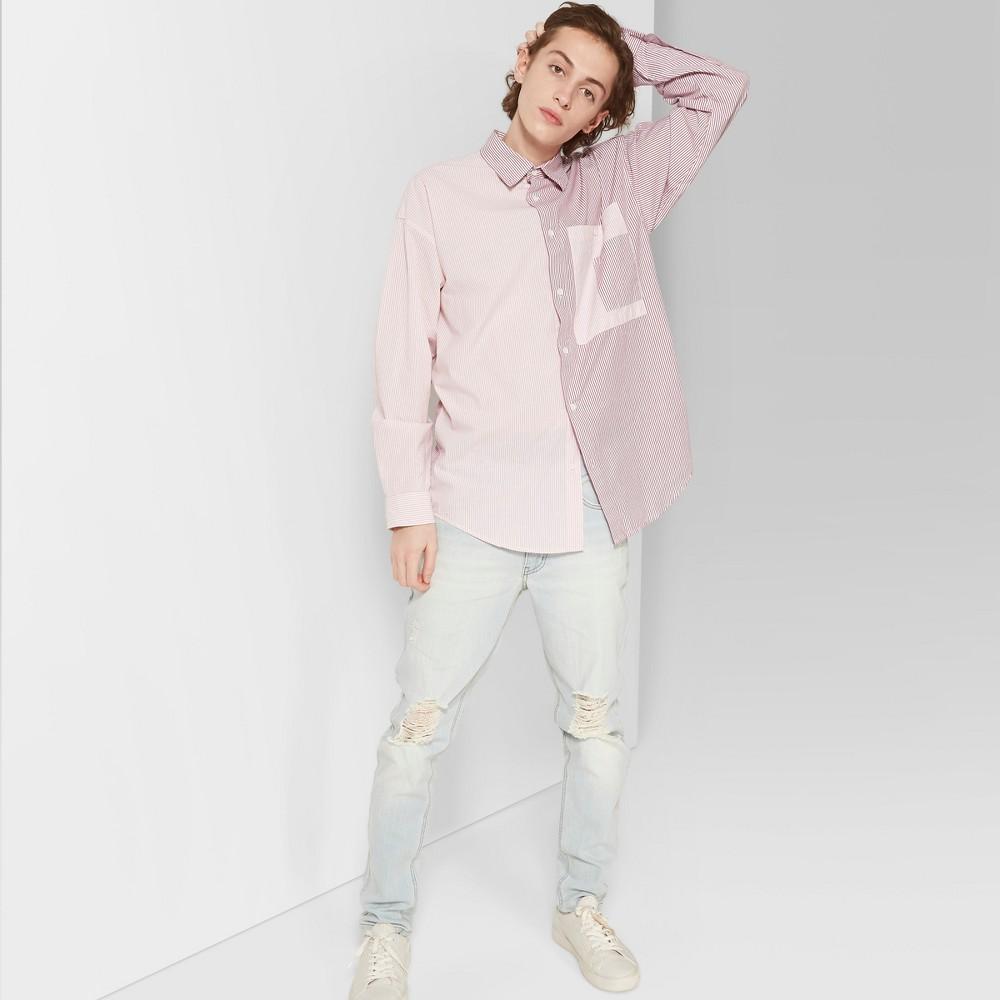 Men's Slim Fit Mid-Rise Destructed Jeans - Original Use Heirloom Blue 40