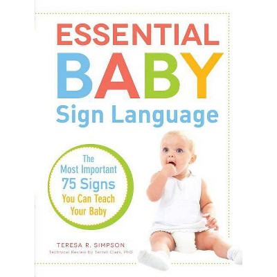 Essential Baby Sign Language - by Teresa R Simpson & Terrell Clark (Paperback)