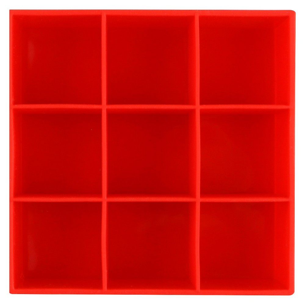 Dexas Set of Four Ice Cube Tray- Red