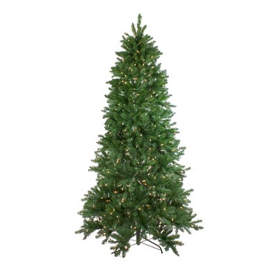 Northlight 9' Prelit Artificial Christmas Tree LED Instant Connect Neola Fraser Fir - Dual Lights