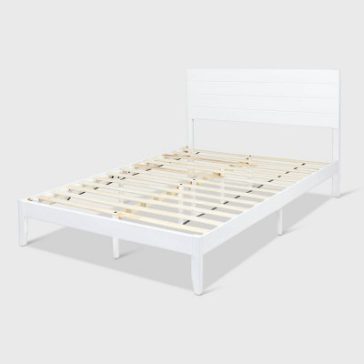 Queen Edgecombe Wooden Low-Profile Platform Bed - Christopher Knight Home