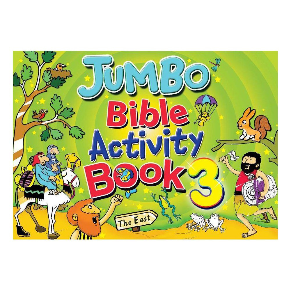 Jumbo Bible Activity Book 3 - by Tim Dowley (Paperback) was $14.99 now $8.99 (40.0% off)