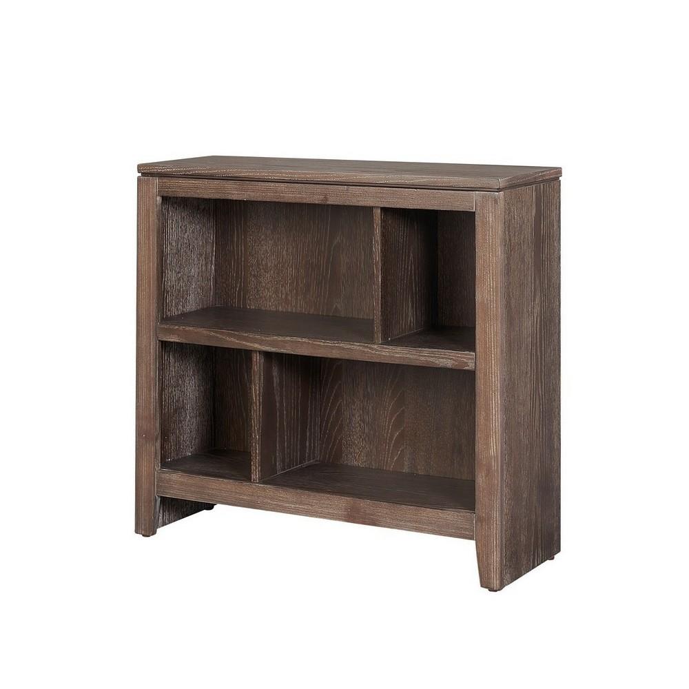 30 Burke Small Bookcase Gray - Linon