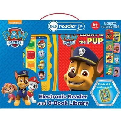 Nickelodeon PAW Patrol Electronic Me Reader Junior 8-book Boxed Set