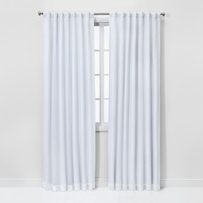 "84""x50"" Blackout Window Curtain Panel White - Threshold™"