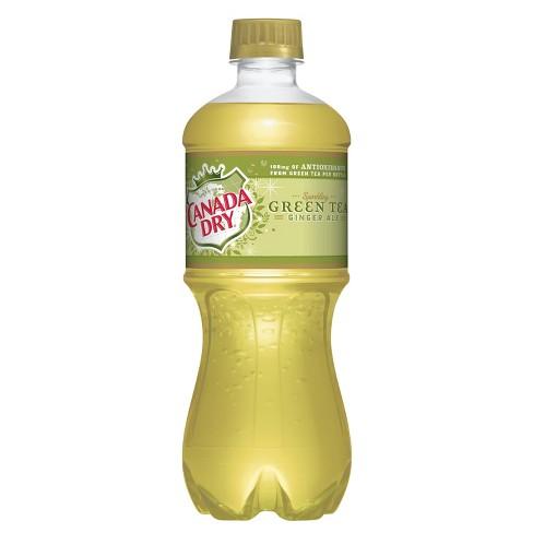 Canada Dry Green Tea - 20 fl oz Bottle - image 1 of 1