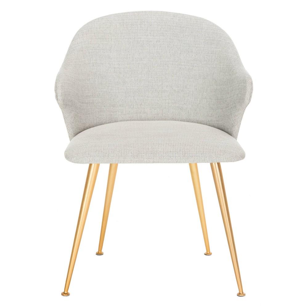 Edmond Arm Chair Light Gray - Safavieh