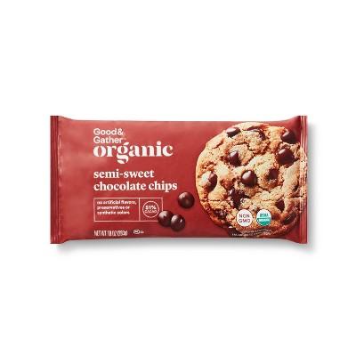 Organic Semi Sweet Baking Chips - 10oz - Good & Gather™