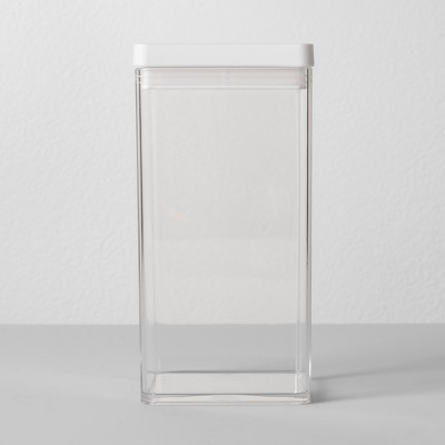 "4""W X 4""D X 8""H Plastic Food Storage Container Clear - Made By Design™"