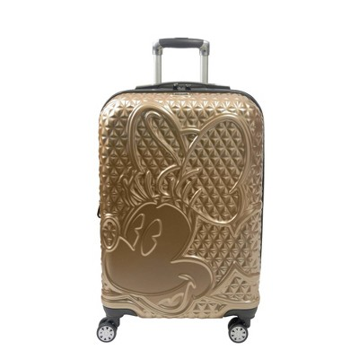 FUL Disney Minnie Mouse 29'' Hardside Suitcase - Gold