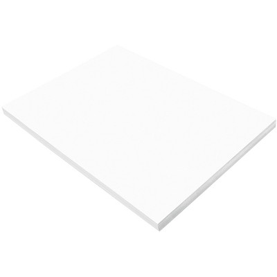 "12/"" x 18/"" SunWorks Construction Paper White 100 Sheets"