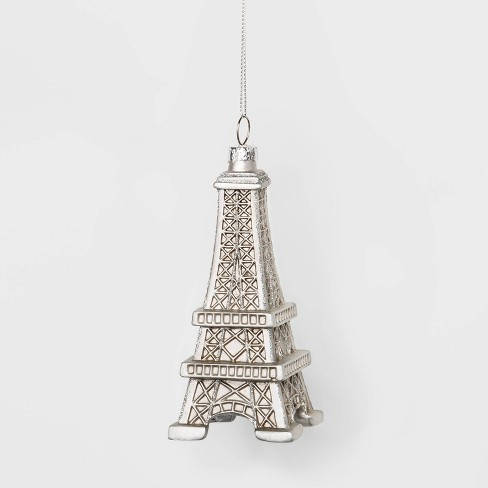 Eiffel Tower Travel Resin Christmas Ornament - Wondershop™ - image 1 of 2