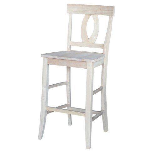 "30"" Verona Barstool - Unfinished - International Concepts - image 1 of 2"