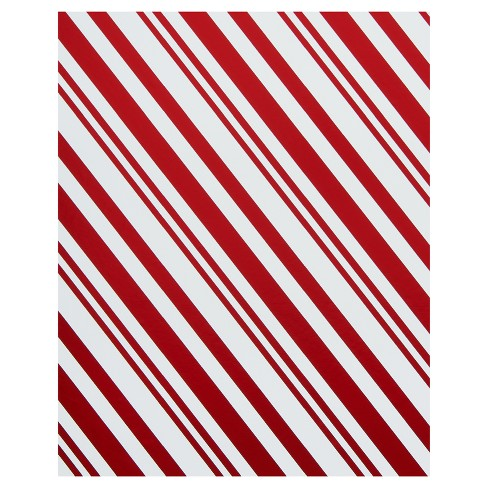 3ct holiday friends candy cane stripes and santa foil wrapping