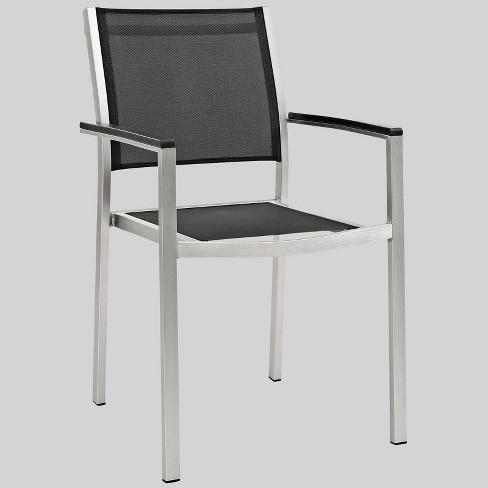 Shore 1pc Outdoor Patio Aluminum Dining Chair - Modway - image 1 of 2