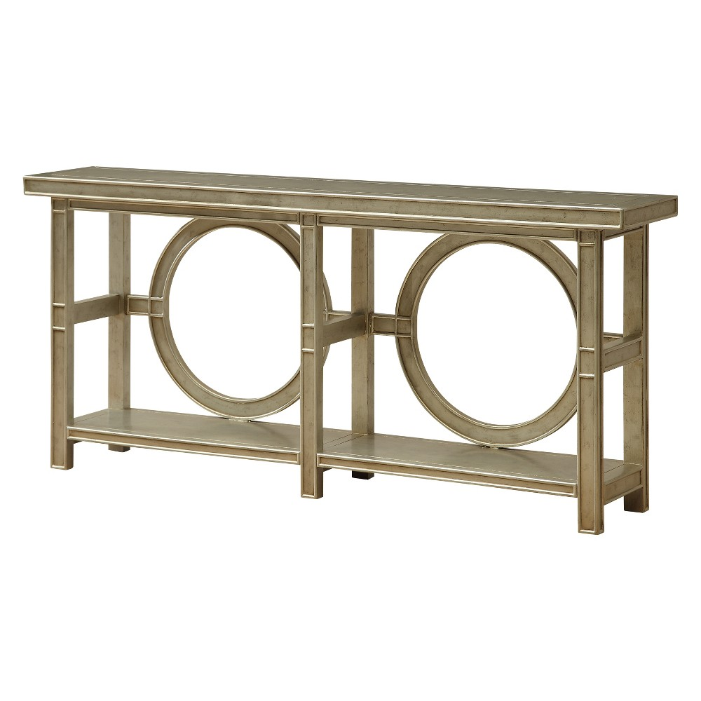 Christopher Knight Home Starshine Console Table Champagne (Beige)
