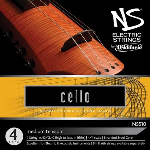 D'Addario NS510 NS Electric Cello Strings - image 1 of 1