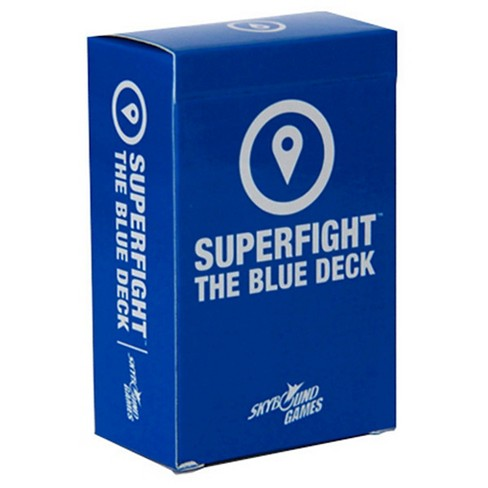 Superfight: Blue (Locations) Deck Game - image 1 of 1