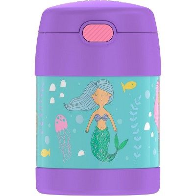 Thermos Mermaid 10oz FUNtainer Food Jar with Spoon - Lavender/Blue