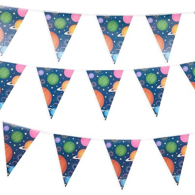 Hanging Flag Pull Flag Party Banner Atmosphere Pennant Children/'s Room Bunting