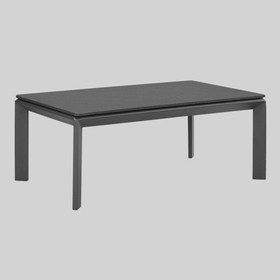 Riverside Aluminum Outdoor Patio Coffee Table - Modway