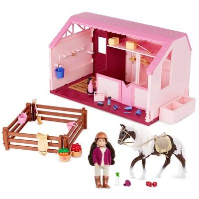 Lori Philippa's Horse & Stable Mini Doll & Equestrian Playset