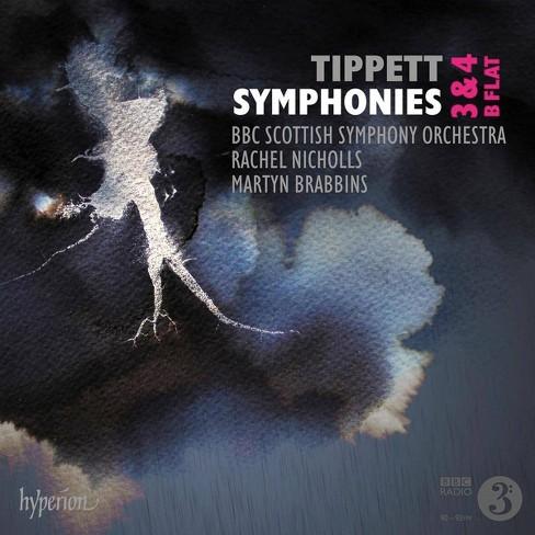 BBC Symphony Orchestra - Tippett: Symphonies Nos. 3, 4 & B Flat (CD) - image 1 of 1