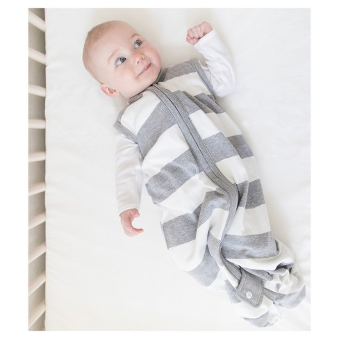 9ca288458d7a Burt s Bees Baby® Beekeeper™ Wearable Blanket Organic Cotton - Rugby ...