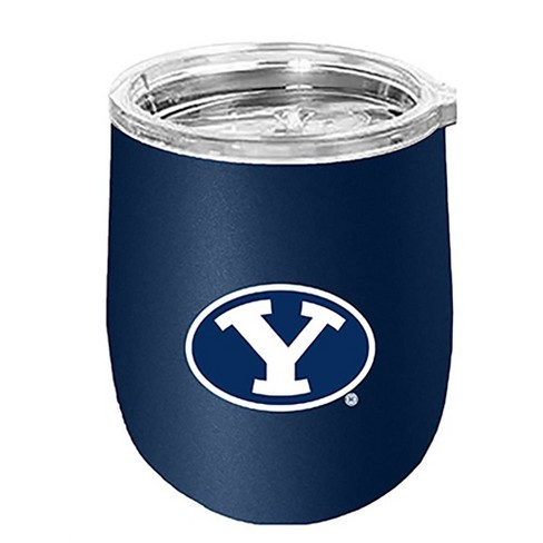 NCAA BYU Cougars Matte Stainless Steel Wine Tumbler - image 1 of 1