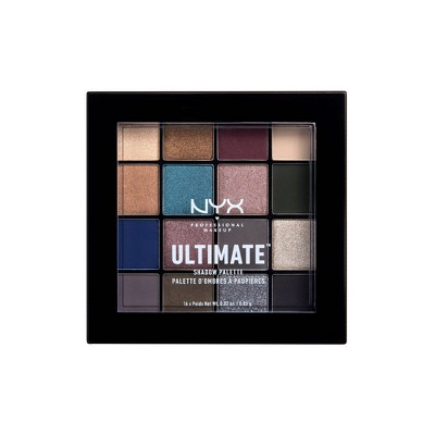 NYX Professional Makeup Ultimate Shadow Palette Ash - 0.02oz