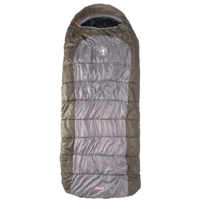 Coleman Big Basin 15 Degree Adult Sleeping Bag - Green/Gray