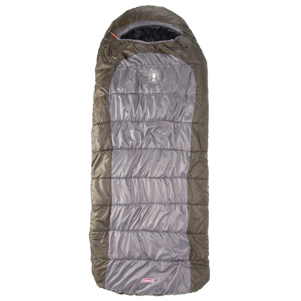 Coleman Big Basin 0 Degree Adult Sleeping Bag Green Gray