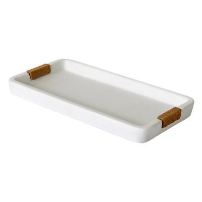 Beringer Bathroom Tray White - Allure Home Creations