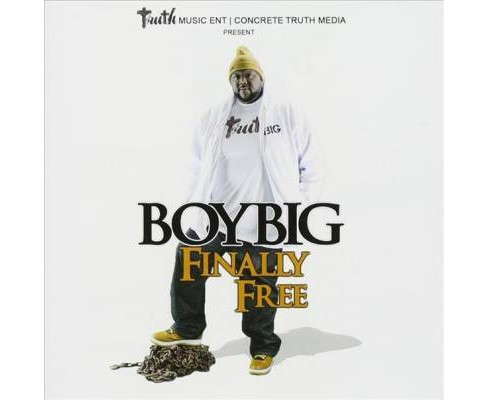 Boy Big - Finally Free (CD) - image 1 of 1