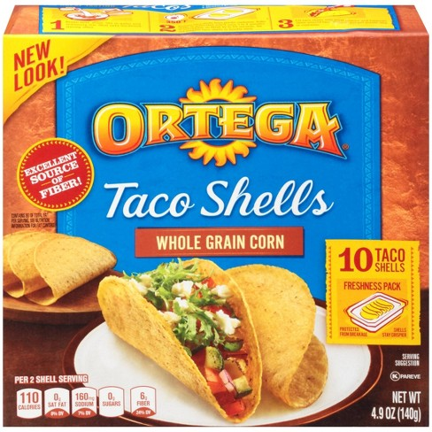 Ortega Whole Grain Corn Taco Shells - 4.9oz/10ct - image 1 of 3