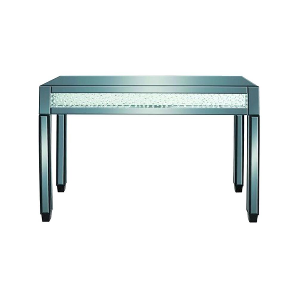 Console Table Green - Benzara