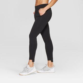 "Women's Ponte Mid-Rise Leggings 28.5"" - C9 Champion® Black L"