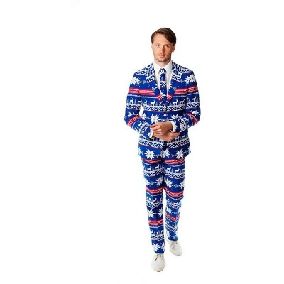 Suitmeister The Rudolph Men's Christmas Costume Suit