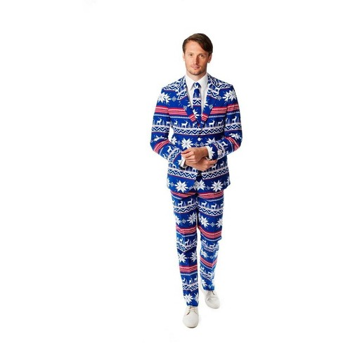 Suitmeister The Rudolph Men's Christmas Costume Suit - image 1 of 1