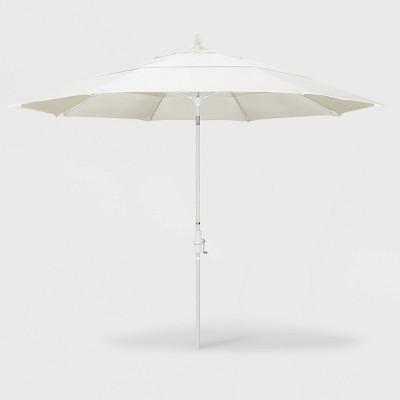 11' Sun Master Patio Umbrella Collar Tilt Crank Lift – California Umbrella
